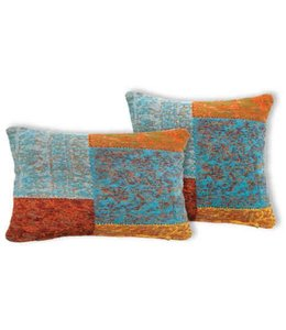Trinity Creations Patchwork Cushion Multi