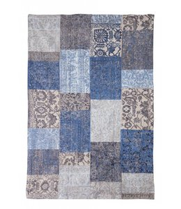 Trinity Creations Patchwork Ming Blue