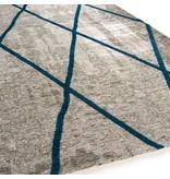 Brinker Carpets Cross Silver Blue