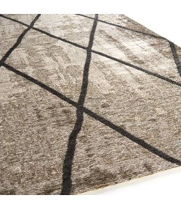 Brinker Carpets Cross Silver Grey