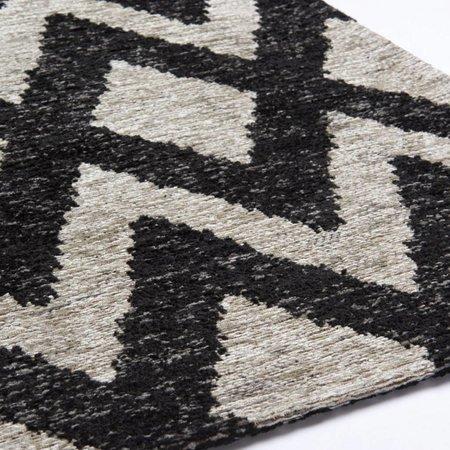 Brinker Carpets Geometrics Rombu beige/black