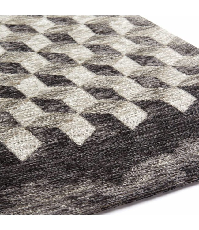 Brinker Carpets Geometrics Unifi Grey