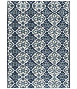 Vloerkledenwebshop.nl Slate Design 19248 Blue