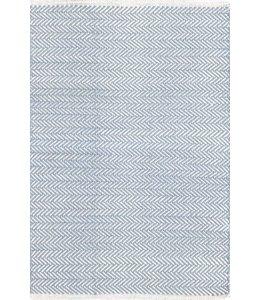 Dash & Albert Herringbone Swedish Blue
