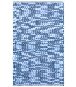 Dash & Albert Herringbone French Blue