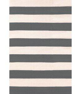Dash & Albert Catamaran Stripe Graphite