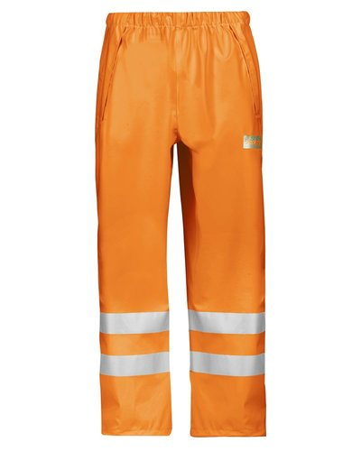 Snickers Workwear Regenbroek PU 8243 High Vis Klasse 2 van Snickers Workwear