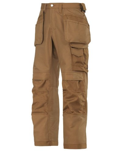 Snickers Workwear Canvas+ Broek Snickers model 3214 B