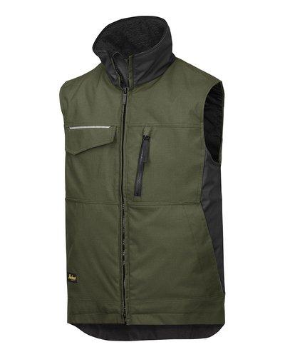 Snickers Workwear Winter Vest 4528 Rip-stop model