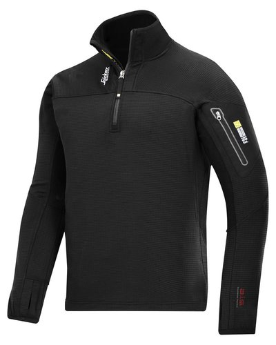 Snickers Workwear 9435 Body Mapping ½ Zip Micro Fleece