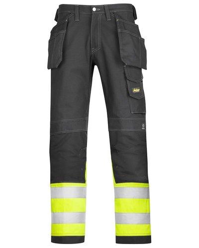 Snickers Workwear 3235 Katoenen Broek High Visibility Klasse 1