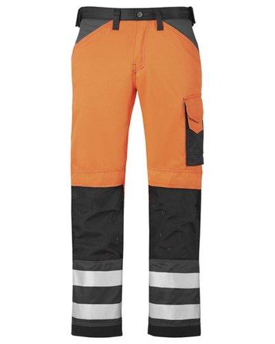 Snickers Workwear Broek High Visibility, Klasse 2 model 3333