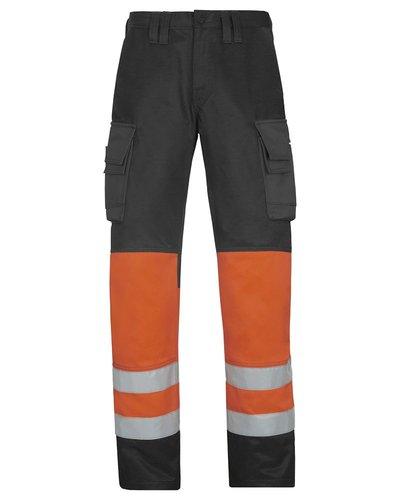 Snickers Workwear Broek High Visibility Klasse 1 model 3833