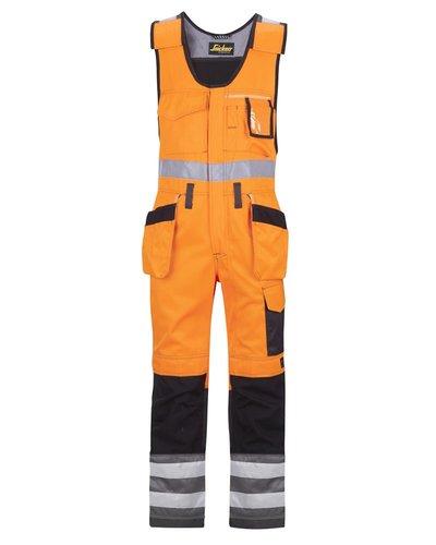 Snickers Workwear 0213 Bodybroek met holsterzakken High Visibility Klasse 2