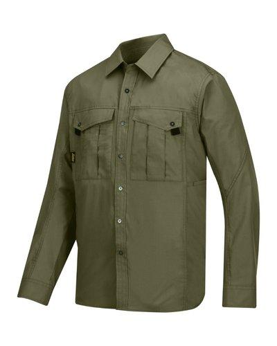 Snickers Workwear Rip Stop Shirt 8508 met lange mouwen