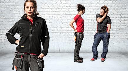 snickers workwear werkkleding voor vrouwen