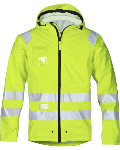 Snickers Workwear 8233 Regenjack PU High Visibility, Klasse 3