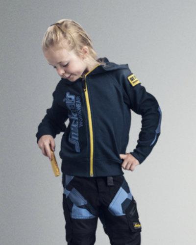 Kinderkleding die tegen een stootje kan