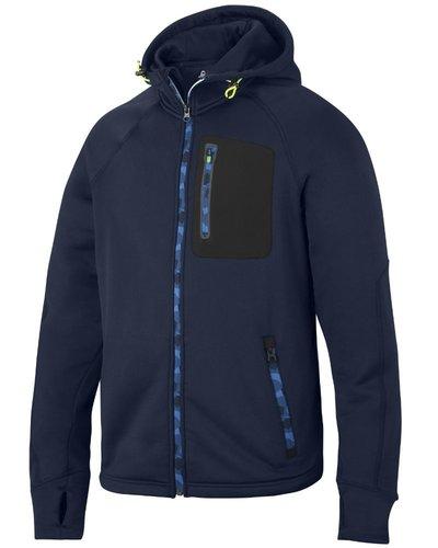 Snickers Workwear 8000 FlexiWork, Stretch Fleece Hoodie