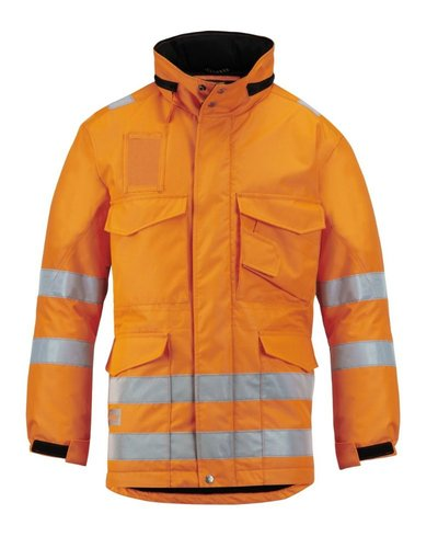 Snickers Workwear 1823 Lange Winterjas High Visibility, Klasse 3