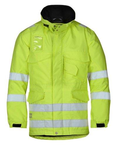 Snickers Workwear 1823 Lange Winterjas High Visibility, Klasse 3