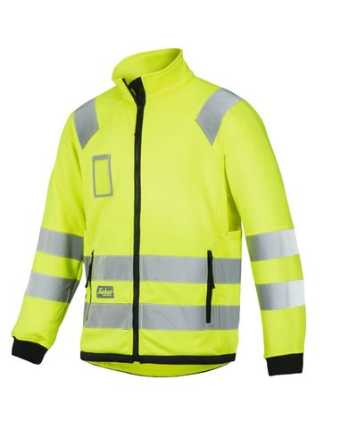 Snickers Workwear 8063 High Visibility Micro Fleece Jack, Klasse 3