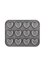 Cake Boss™ 12-cup Bakplaat 'Heart'