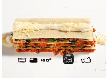 Caat Kookt: Spinazie lasagna