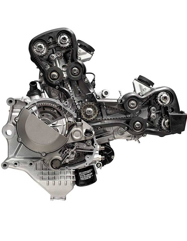 Ducati Audi Ducat Racing Bike Engine