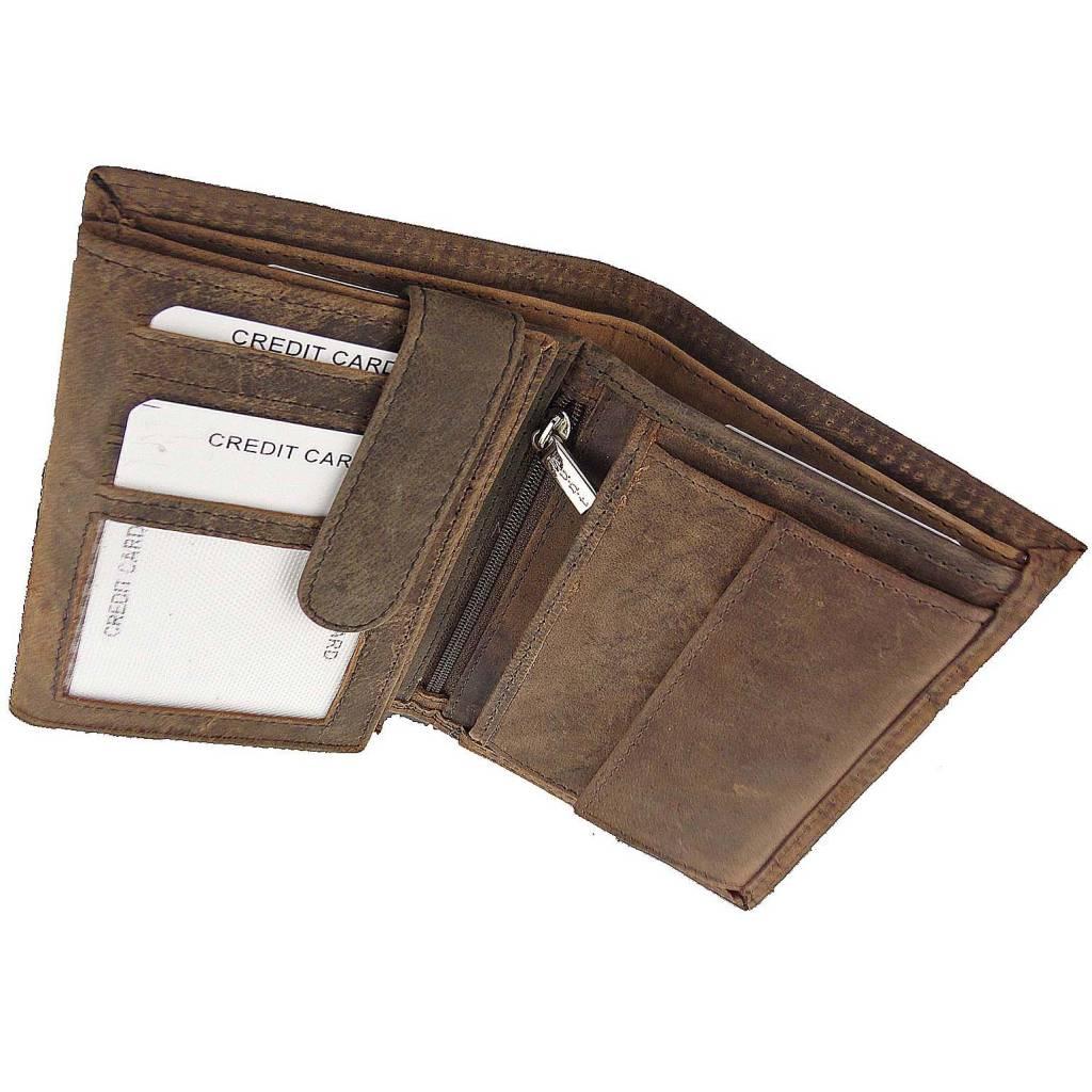 portemonnee zonder pasjes