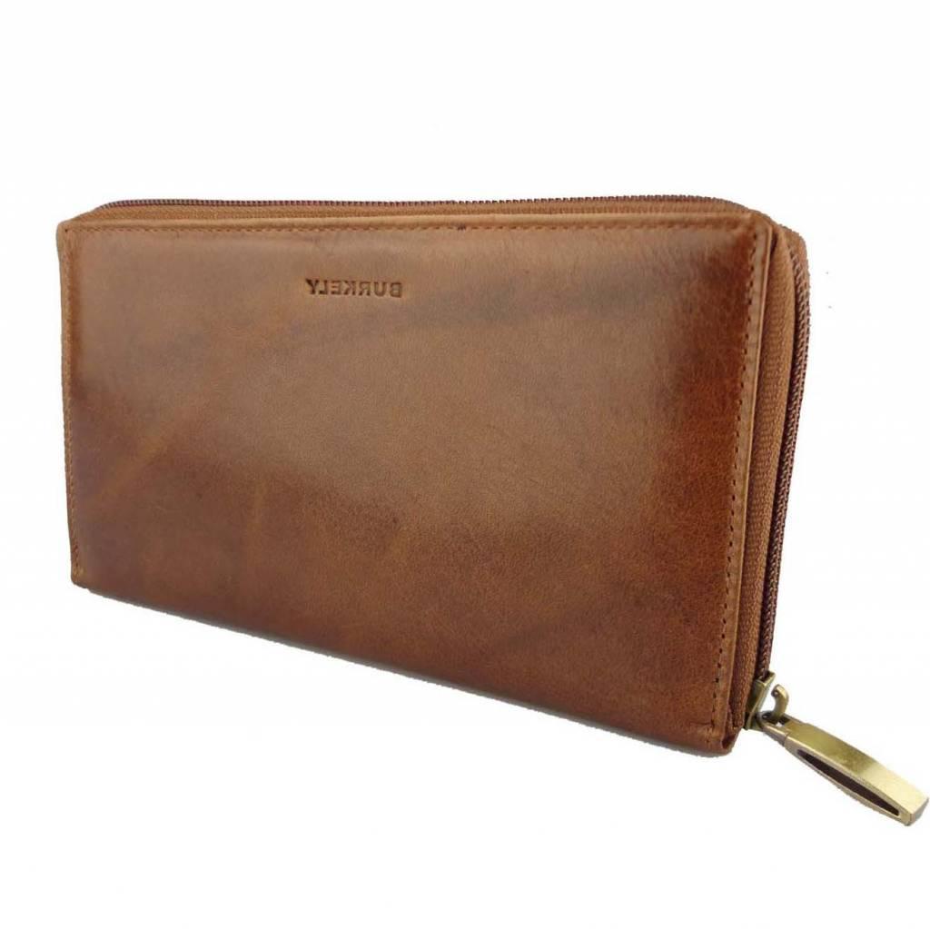 Portemonnee Dames Bruin Leer.Portemonnee Dames Decoded Denim Iphone 5 5s Se Case Wallet