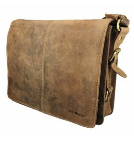 Greenburry Dames Heren A4 Schoudertas Messenger Bag