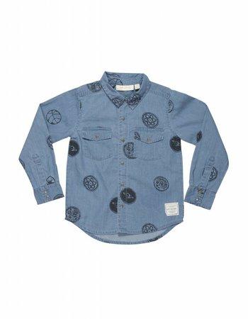 Soft Gallery Soft Gallery - Denim shirt - Severin licht blauw