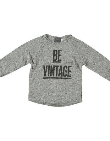 Tocoto Vintage Tocoto Vintage - Shirt - Flamé Printed Grey