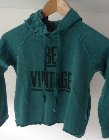 Tocoto Vintage Tocoto Vintage - Sweatshirt - Hooded Sweatshirt Printed Green