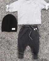 I Dig Denim I Dig Denim - Ed Sweater Pant - Black Washed