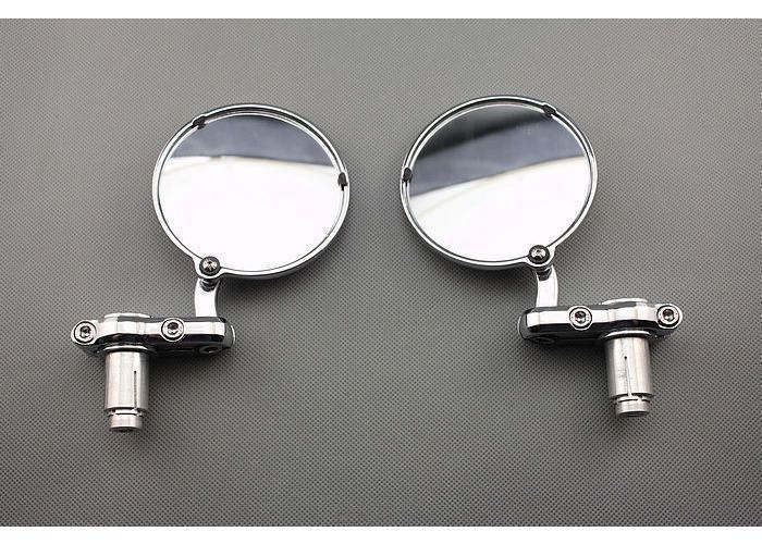 "MCU 3"" Chrome Bar End  Spiegels"