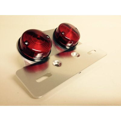 Emgo Dual Light + Holder Round Cafe Style