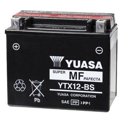Yuasa Wartungsfreie  Yuasa YTX12-BS Batterie
