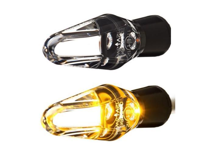 Motogadget m-Blaze Ice Black Knipperlicht