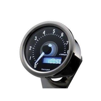 Daytona Velona Tacho Chrome 8.000 RPM