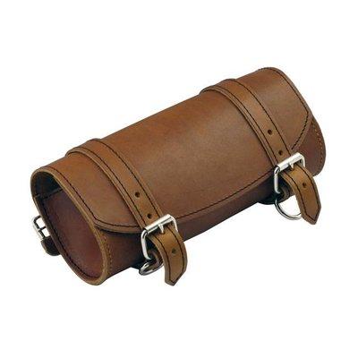 La Rosa Gabellicht Braun echtes Leder Werkzeugtasche