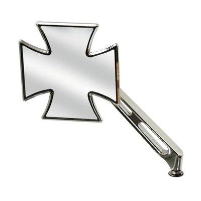 Maltese Cross Spiegel Links Slotted Stem