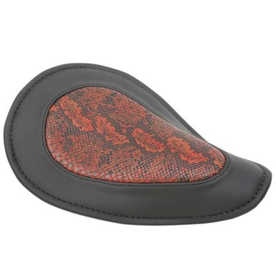 Drag Specialties Python Solo Seat Red