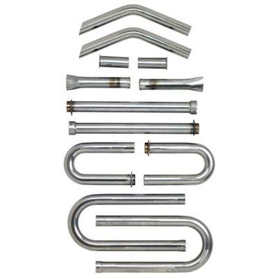 Biltwell Exhaust Builders Kit Steel