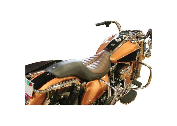 Roland Sands Seat Enzo 2-Up Black/Brown
