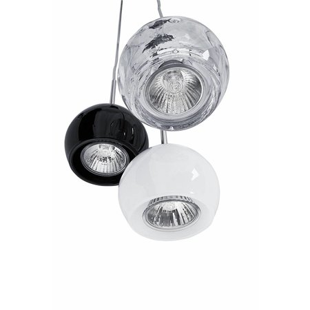 Pendant light design 80mm H GU10 black