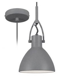 Pendant light dining room conic steel 160mm H E27 fitting