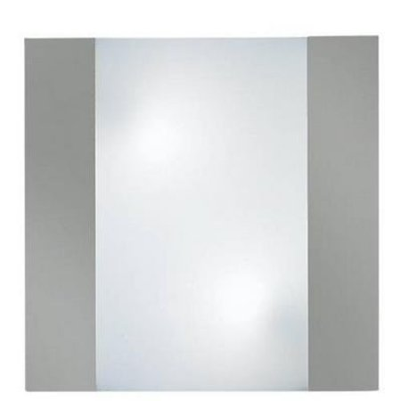 Wall light square frontal 350mm wide with 2xE27 fitting
