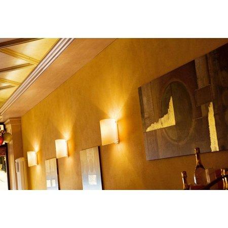 Applique murale verre frontal 295mm large E27